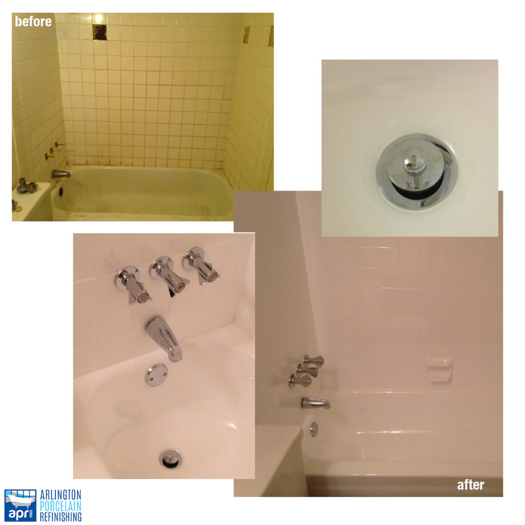 Arlington Porcelain Refinishing | Refinishing old and outdated baths